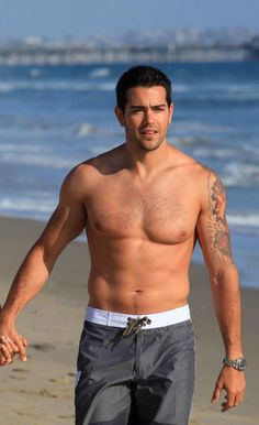 Jesse Metcalfe shows off his ripped six pack abs while going shirtless at the beach on Saturday (April 27) in Santa Monica, Calif.  Gallery > http://www.thecelebarchive.net/ca/gallery.asp?folder=%2Fjesse+metcalfe%2F#results
