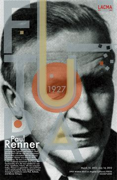 Paul Renner & Futura by Vilma Ansaldo, via Behance