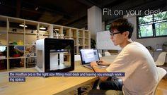 Mostfun Pro: World's First Intel Inside Desktop FDM 3D Printer at Kickstarter. 50 microns, autoleveling, $700