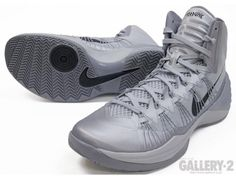 nike hyperdunk 2013 grey black 05 570x427 Nike Hyperdunk 2013 Grey Black