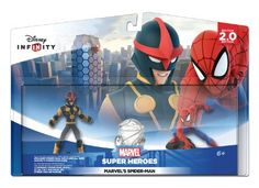 Amazon.com: Disney INFINITY: Marvel Super Heroes (2.0 Edition) - Marvel's Spider-Man Play Set - Not Machine Specific: Video Games $24.99