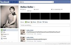 If Hellen Heller Had Facebook