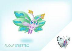 Alola Smettbo by Lalingla User Profile, Pokemon, Fairy, Deviantart, Artist, Nature, Flowers, Naturaleza, Nature Illustration