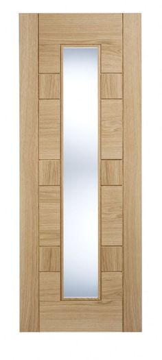 Pre-finished Oak Edmonton Glazed Internal Door Available in sizes 78 x 27 78 x 30 and 78 x 33 Supplied pre-finished Glass is clear toughened 1981 x Internal Doors, Door Design, Glaze, Mirror, Wood, Furniture, Home Decor, Enamel, Decoration Home
