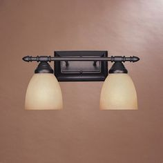 Designeru0027s Fountain 2 Light Apollo Oil Rubbed Bronze Bathroom Vanity Light