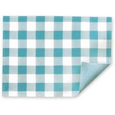 The Pioneer Woman Charming Check Placemat, Teal, Blue