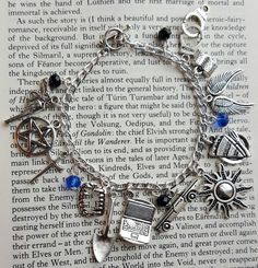 Supernatural Charm Bracelet by AlwaysBelieveJewelry on Etsy
