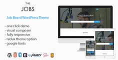 TheJobs - Job Board WordPress Theme Item DetailsCommentsSupport TheJobs - Job Board WordPress Theme - Directory & Listings Corporate Live PreviewScreenshots Share Facebook Google Plus Twitter Pinterest Add to Favorites Add to Collection job-manager WP Job Manager TheJobs has been developed from the ground up to extend WP Job Manager Plugin and all of its extendsions resume-manager Resume Manager Resume Manager is a add-on built on top of WP Job Manager which adds a resume submission form to…