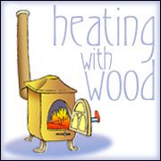 Heating with Wood: info on types of heaters, ideal placement, construction and calculating size of heater required.
