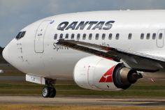 VH-TJZ 'Port Pirie' Boeing 737-476 Qantas