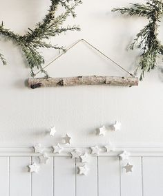 Fun fact: This tiny star wall hanging from Scandinavian Gatherings is probably the most popular project from the book and it was a totally last minute addition! Isnt it beautiful? Everything in my Etsy shop including my book is on sale through midnight tonight so go buy a treat for yourself or stock up on holiday gifts. Link in profile http://ift.tt/2kcJcYW. (photo by @charitylburggraaf for @sasquatchbooks)