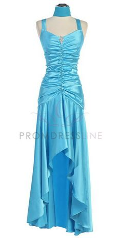 turquoise bridesmaid dresses | ... Long in Back Short in Front Bridesmaid Dress - Bridesmaid Dresses