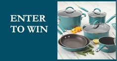 #Win a #RachaelRay Cookware Set #Giveaway | Cazador de sorteos