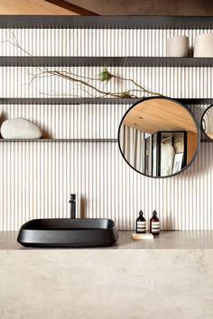 Earth Tones Set The Mood Of This Apartment Interior Design By Consuelo Jorge - Modern Interior Design Apartment Interior Design, Bathroom Interior, Modern Bathroom Design, Modern Interior Design, Bathroom Designs, Glass Wardrobe, Loft Industrial, Marble Bathtub, Zen Interiors
