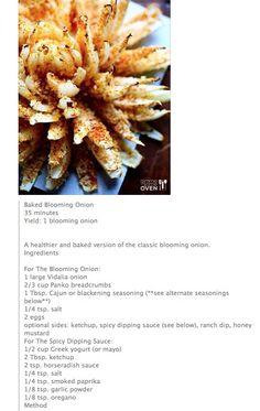 Part 1 Onion Blossom