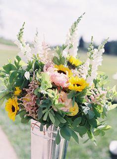 Photography: Joey Kennedy Photography - http://www.stylemepretty.com/portfolio/joey-kennedy Floral Design: B Floral Design - http://www.stylemepretty.com/portfolio/b-floral-design   Read More on SMP: http://www.stylemepretty.com/2015/10/05/colorful-morais-vineyard-wedding-in-virginia/