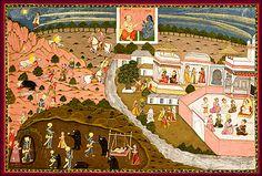 How the Syamantaka Jewel Brought  Krishna Jambavatî and Satyabhâma