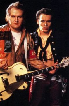 Marco Pirroni and Adam Ant