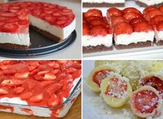 Kinder mliečny rez – rýchly a výborný koláčik bez múky! Clean Eating Recipes, Raw Food Recipes, Sweet Recipes, Cake Recipes, Dessert Recipes, Low Carb Recipes, Cooking Recipes, Czech Recipes, Russian Recipes