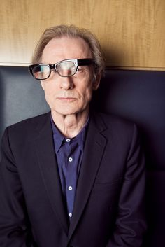 "Bill Nighy ""I don't do unshaven--makes me look like someone about to have a breakdown."""