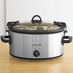 Crock Pot® Cook & Carry 6-qt. Slow Cooker - this is an excellent thing! The handles make it a great choice for church or family dinners, or even taking lunch to work.