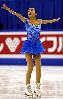 Mao Asada, Blue Figure Skating / Ice Skating dress inspiration for Sk8 Gr8 Designs