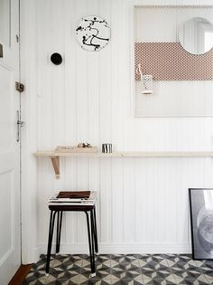 love the shelf - styling by Joanna Bagge for Stadshem