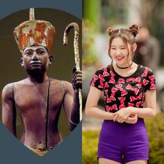EgyptianCabins&KPOP // Imhotep // Sungyeon of pristin