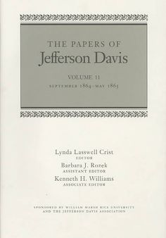 jefferson davis essays