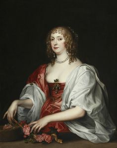 Catherine Bruce, Mrs William Murray (d.1649). after Sir Anthony Van Dyck (Antwerp 1599 - London 1641)