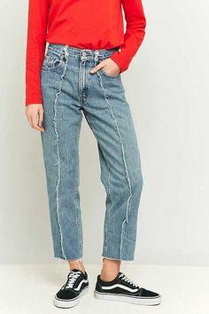 c035abb08bec9 Jeans femme | Jeans droits, skinny et mom. Jeans Taille HauteJeans ...