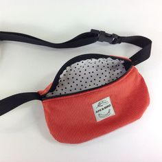Handmade fanny pack. How many times have you found yourself: A: wearing no pockets B: misplacing your phone, keys, wallet ect C: not needing a huge