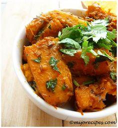 Indian Butternut Squash Recipe, Indian Vegetable Recipe |  Gluten Free, Vegan