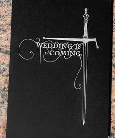 Mariage Game of Thrones : Wedding is coming !