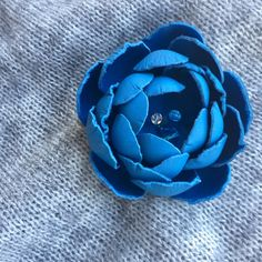 Leather Flowers, Flower Brooch, Search, Etsy, Shopping, Research, Searching