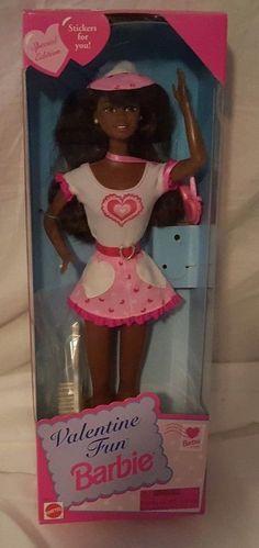 Mattel 1996 Special Edition Valentine Fun AA Barbie NRFB 16311 #Mattel