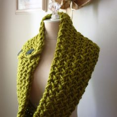 One of my favorite knitting patterns, Embraceable's herringbone texture is perfect worked with bulky and super bulky yarns.  And makes for a quick knit too - knit several for Christmas gifts!  Designed by Phydeaux.  :)
