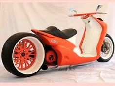 If you absolutely must have a scooter...the only way my husband will let me have a scooter! lol