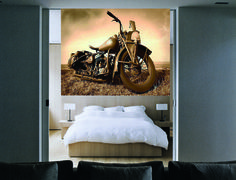 Harley Mural M8390 by Walls Republic.