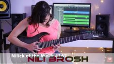 Nili Brosh: Melodic Tapping & Solo    Check out this channel every Friday for a brand new lick! Download original music by Nili at http://apple.co/2keKKy2 For the first 166 licks check out Nili's Instagram page - https://ift.tt/2hDS08T  Thanks to all the love from last week this week's lick is the bridge and first solo from last week's song. Title suggestions are still welcome! Tone by Ibanez Guitars EMG Pickups HeadRush and Dean Markley Strings!  For more Nili Brosh check out: YouTube…