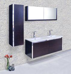 Gallery For Website BLOX Xylem Modern Wall Mounted Bathroom Vanity Set Bathrooms Pinterest Vanity set Bathroom vanities and Wall mount