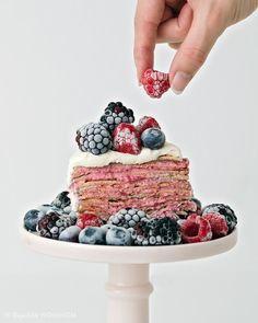 Fruchtiges Crêpe-Törtchen!