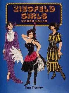 Ziegfeld girls - Nena bonecas de papel - Álbumes web de Picasa