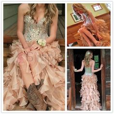 Simple-dress Gorgeous Strapless A-line Long Organza  2015 Prom Dresses/Homecoming Dresses/Quinceanera Dresses  ORPD-70692