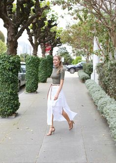 theory tylary linen ivory maxi skirt button front brown leather fringe belt