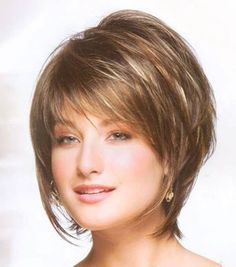 Best Short Bob With Layers and Bangs