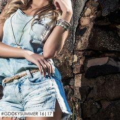 O verão pede por looks descontraídos e confortáveis! #Totaldenim #Gdokyjeans #Bestchoice