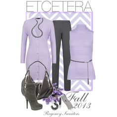 """ETCETERA Fall 2013 Regency Sweaters"" by lee522 on Polyvore"