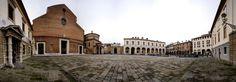 Piazza Duomo e Battistero Padova