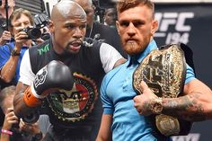 """Conor McGregor has the proverbial """"puncher's chance"""" of knocking out Floyd Mayweather Jr. when they meet August 26 at the T-Mobile Arena in Las Vegas. McGregor is a underdog at press time to win this fight, and to win by KO/TKO or disqualification. Mcgregor Fight, Connor Mcgregor, Pacquiao Vs, Manny Pacquiao, Conor Mcgregor Vs Mayweather, Conor Mcgregor Boxing, Ufc Live Stream, Muhammad Ali Fights, Floyd Mayweather Fight"""